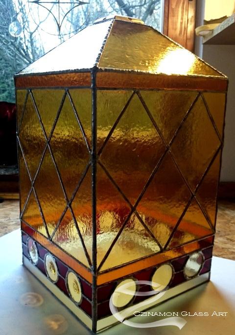 Tiffany lámpa elkészült
