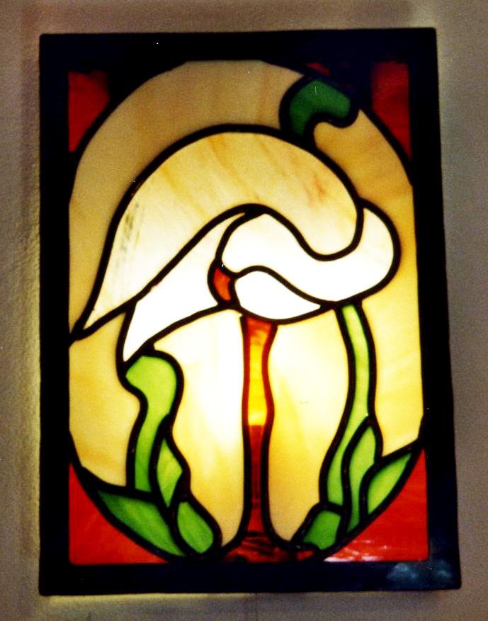 Tiffany-falilampa-flamingoval