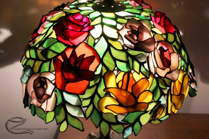 Tiffany lámpa készítés