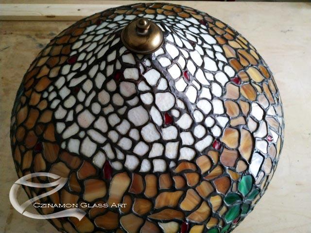 Tiffany lámpabúra
