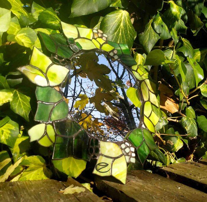 TBorostyános tiffany tükör