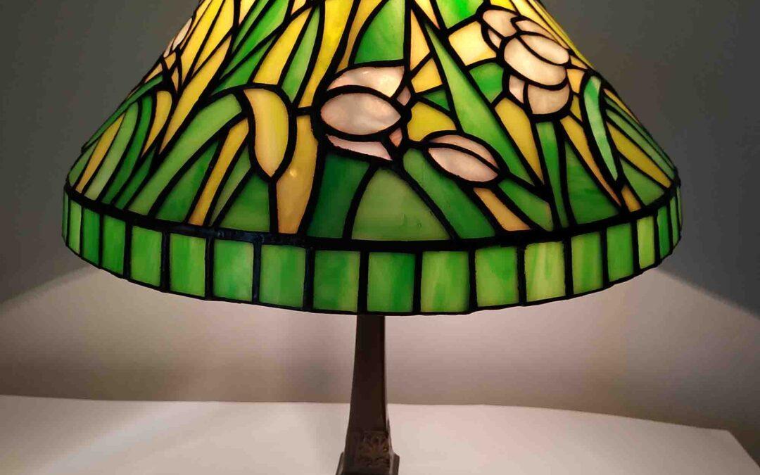 Tulipános lámpa